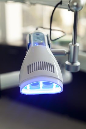 teeth whitening laser